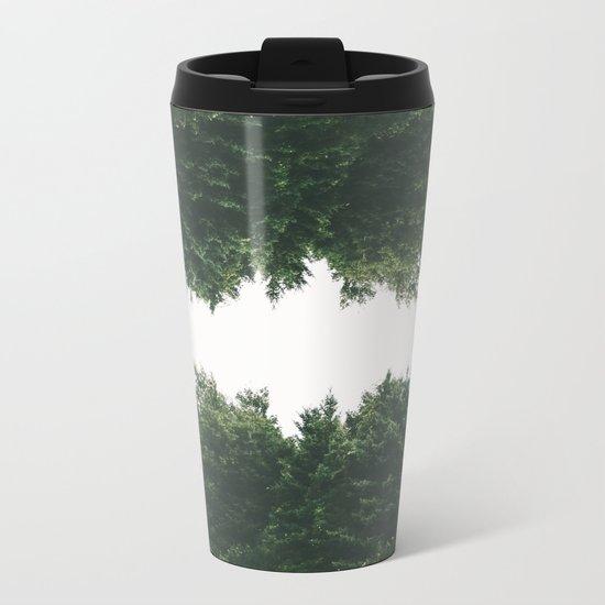 Forest Reflections VI Metal Travel Mug