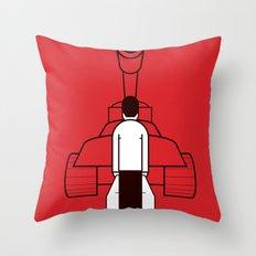 Tankman Throw Pillow