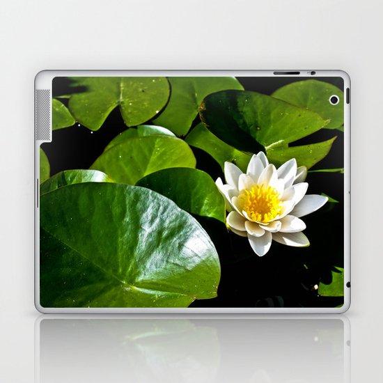 Pond Lilly Laptop & iPad Skin