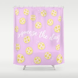 Squeeze The Day | Lemons Shower Curtain