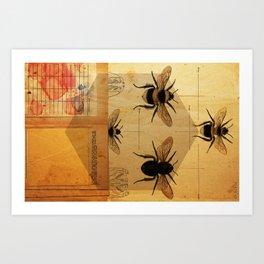 Apidae Art Print