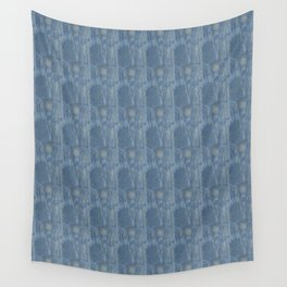 Abstraction from Rouen Cathedral by Manet - abstraction,abstract,minimalism,plain,ombré Wall Tapestry