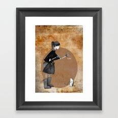 GAIA Framed Art Print