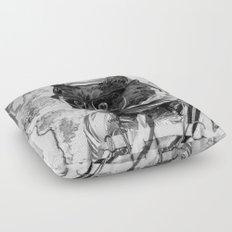 Space Kitten Floor Pillow