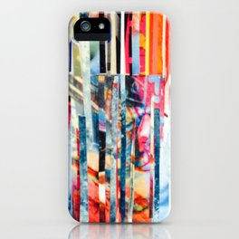 Stripes 21 iPhone Case