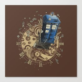The Doctor?! Canvas Print