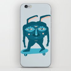 Skater Bunny iPhone Skin