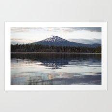 Mount Bachelor Art Print