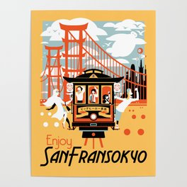Enjoy San Fransokyo Poster