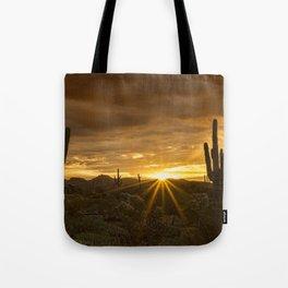 A Southwestern Sunrise Tote Bag