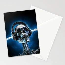 Soul music Stationery Cards