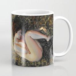 Woman among the grass Coffee Mug