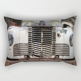 International Truck Grill, Truck Grill, Old Truck Rectangular Pillow