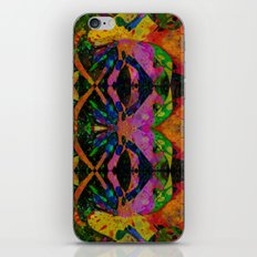 Liquid Nights Abstract Painting Manipulation iPhone & iPod Skin