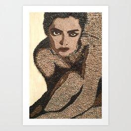 Coffee Girl Art Print