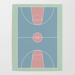 Basketball Court 1 Poster