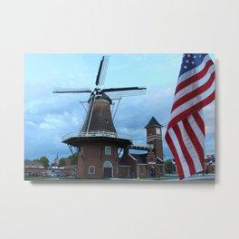 Little Chute Windmill Metal Print
