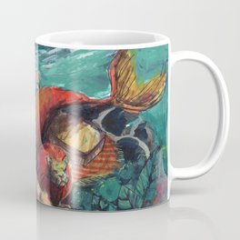 zodiac mermaid: leo Coffee Mug
