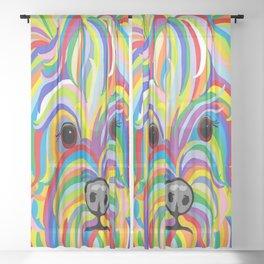 Yorkie Sheer Curtain