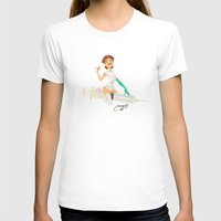 nurse T-shirts featuring nurse by Melissa Ballesteros Parada