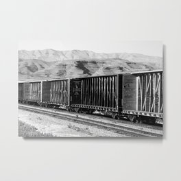 The Ride Metal Print