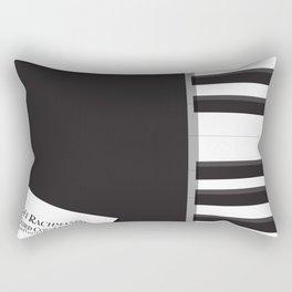 Shine, Geoffrey Rush, David Helfgott, Scott Hicks, alternative movie poster, minimalist film, affich Rectangular Pillow