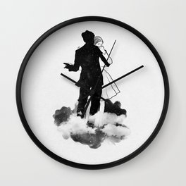 Peaceful dance. Wall Clock