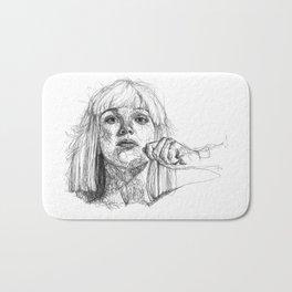 Sia Scribbles (Pen Art) Bath Mat