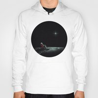 chill Hoodies featuring Space Chill by nicebleed