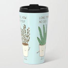 garden etiquette Travel Mug