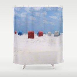 Beach Chair Shower Curtains