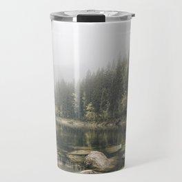 Pale lake - landscape photography Travel Mug