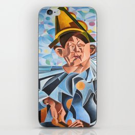 Not Clowning But Frowning iPhone Skin