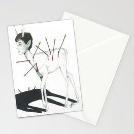 Audrey Hepburn Deer Stationery Cards