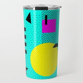Hello Memphis Lemon Splash Travel Mug