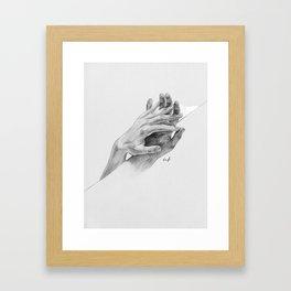 Free Bonds Framed Art Print