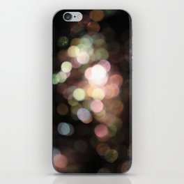 Bubbly Bokeh iPhone Skin