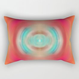 Life Source - Energy Abstract Art By Sharon Cummings Rectangular Pillow