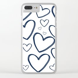 Heart Works Clear iPhone Case