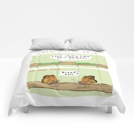 Caterpillar Love Comforters