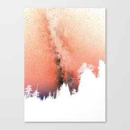 White pine trees Leinwanddruck