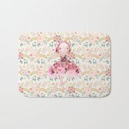 Isabella Bellarina Dancing in Flowers Bath Mat