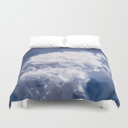 Grace and Beauty Defined a blue Hydrangea flower Duvet Cover