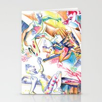 labyrinth Stationery Cards featuring LABYRINTH by Don Giancarli