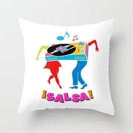 Salsa dance Throw Pillow