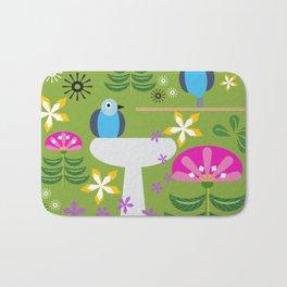 Bird Bath Bath Mat