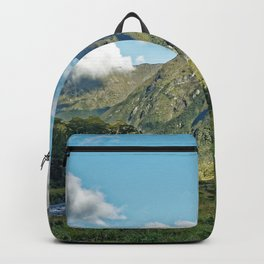 Monkey Creek, New Zealand Landscape Backpack