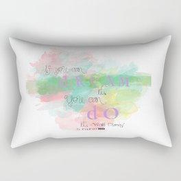 Walt inspired Stefanie  Rectangular Pillow