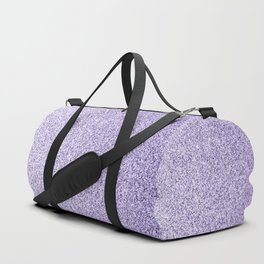 Ultra violet light purple glitter sparkles Duffle Bag