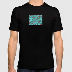 A Happy Ending Black MEDIUM Mens Fitted Tee